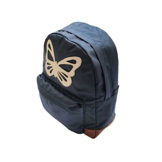 Grand sac à dos - Papillon bleu