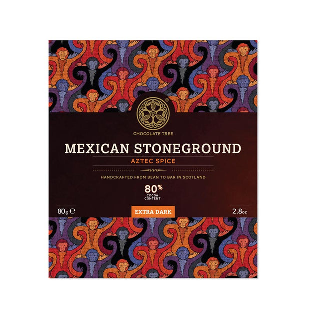 Chocolat noir artisanal - Mexican Stoneground 80%