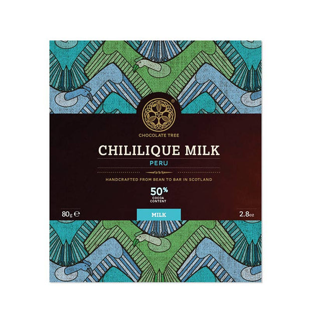 Chocolat au lait artisanal - Chililique Milk 50%