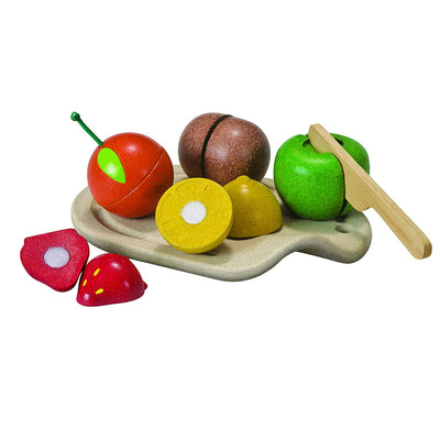 fruits a decouper - plan toys
