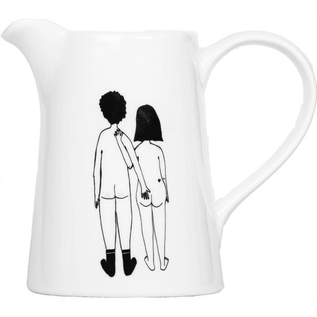 "Carafe ""Naked couple back"""