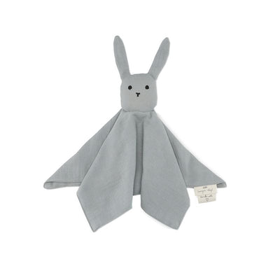 KONGES SLOJD - Doudou plat lapin - french blue