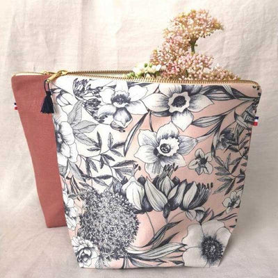 Trousse haute - Lila - French Blossom