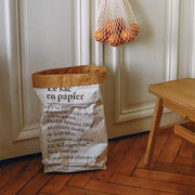 Sac en papier -made in France - Bepoles
