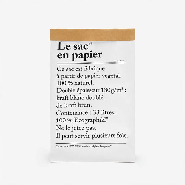 sac en papier - French Blossom