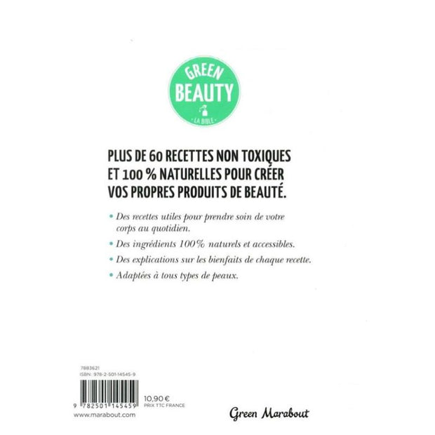 Livre lifestyle - Green Beauty - MARABOUT