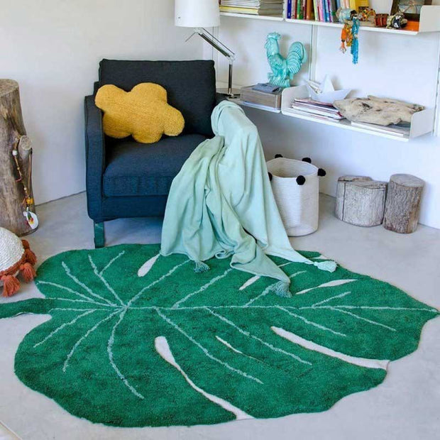Lorena Canals -Tapis Feuille de Monstera