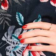 NAILMATIC - Vernis Dita rouge biosourcé - Scene