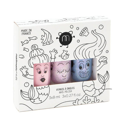 Coffret vernis enfant - Mermaid