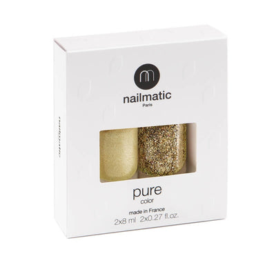 NAILMATIC - coffret 2 vernis biosourcés - Eleanor & Bonnie