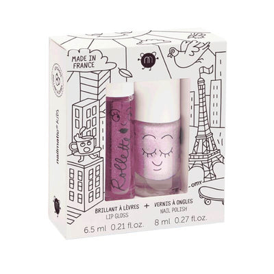 NAILMATIC KIDS - Coffret rolette & vernis - lovely city