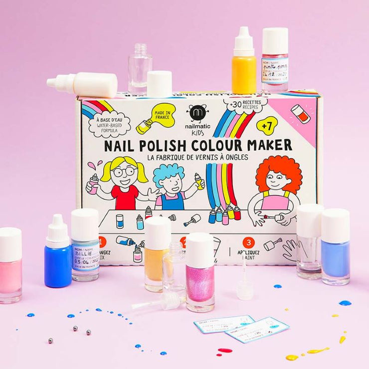 NAILMATIC KIDS - La fabrique à vernis à base d'eau - DIY enfants