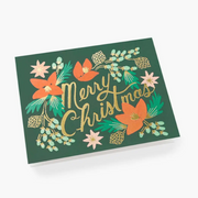 RIFLE PAPER CO - Carte de Noël - Wintergreen Christmas