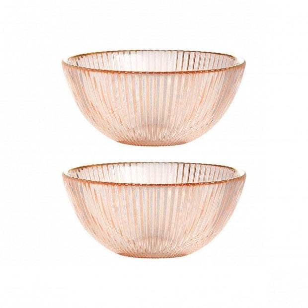 Set de 2 bols - Rose - Klevering