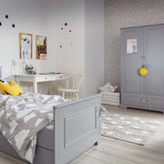 Tapis gris - Etoiles blanches -Lorena Canals