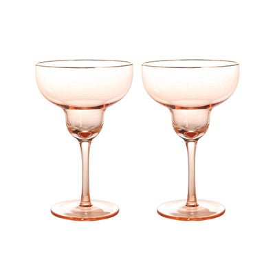 Verres à cocktail - Rose - Klevering