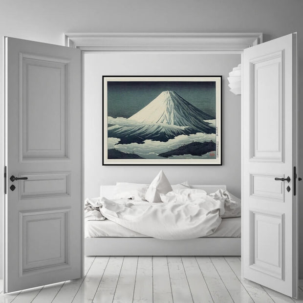 "THE DYBDAHL CO - Affiche A1 ""Mount Fuji"" - Scene"