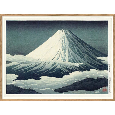 "THE DYBDAHL CO - Affiche A2 ""Mount Fuji"""