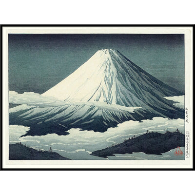 "THE DYBDAHL CO - Affiche A1 ""Mount Fuji"""