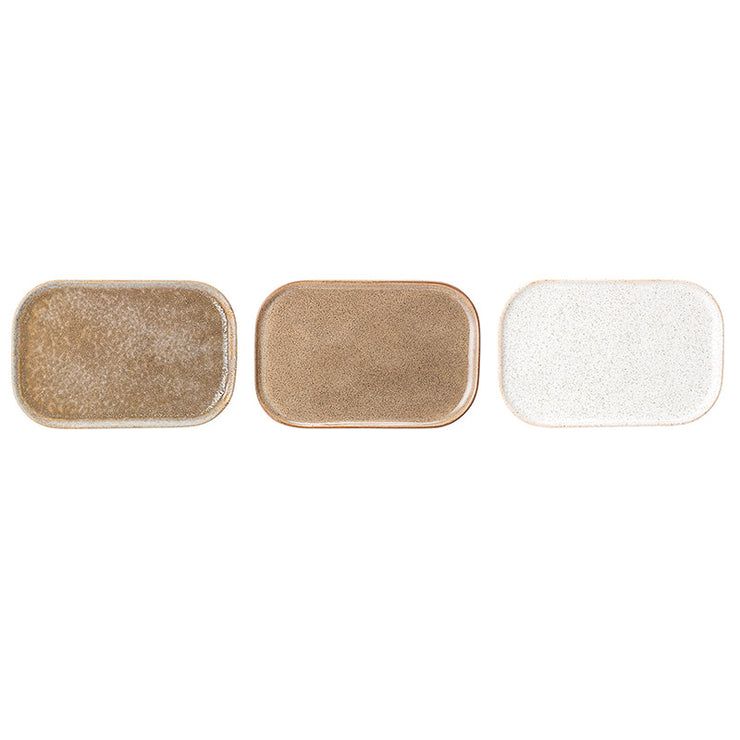 Assiette rectangle Addison