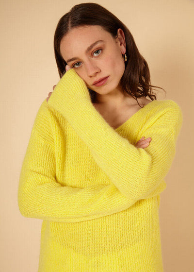 Pull Nickie jaune - FRNCH