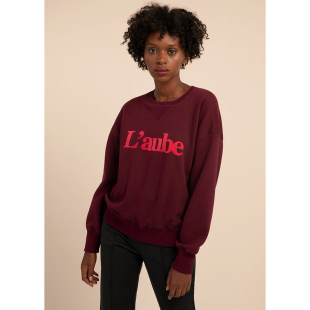 FRNCH - Sweat Nassika bordeaux