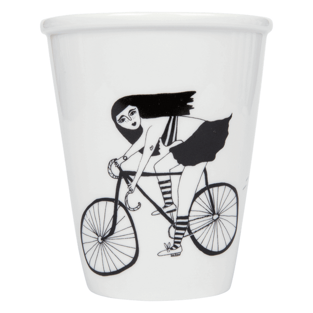 "Tasse ""Fixie Girl"""