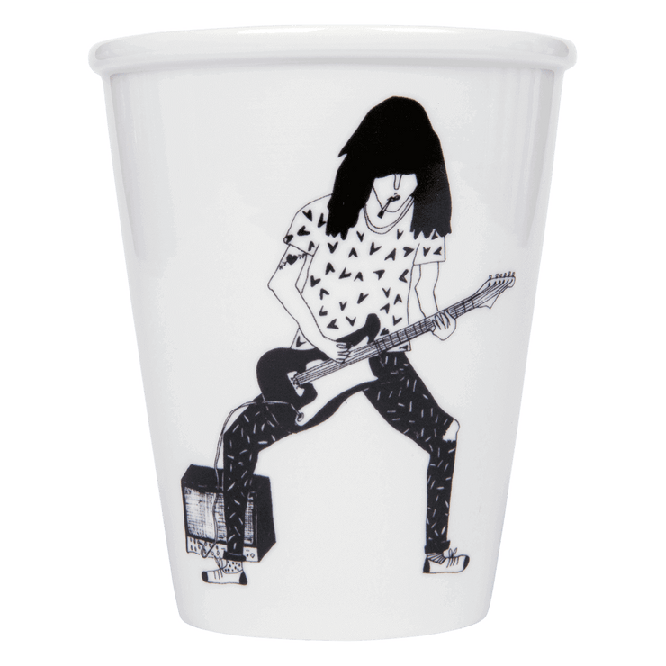 "Tasse ""Guitar Player"""
