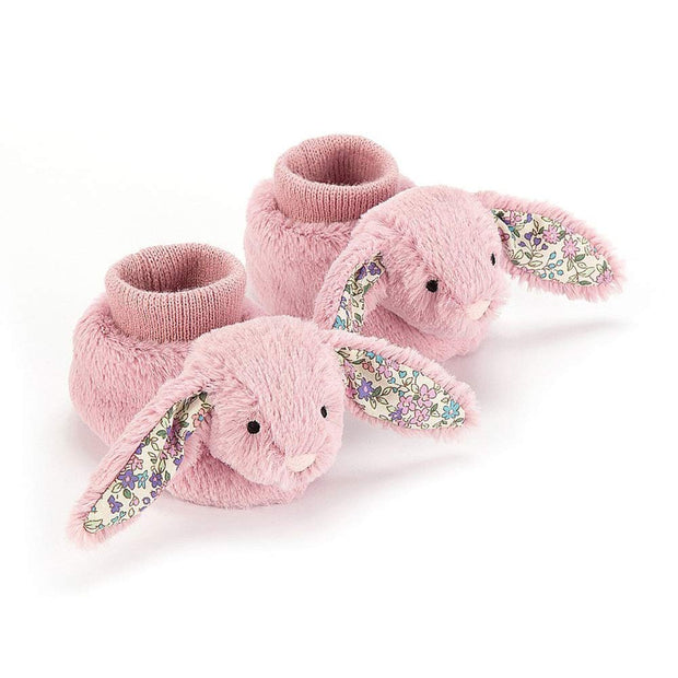 JELLYCAT - Chaussons Blossom Bunny rose