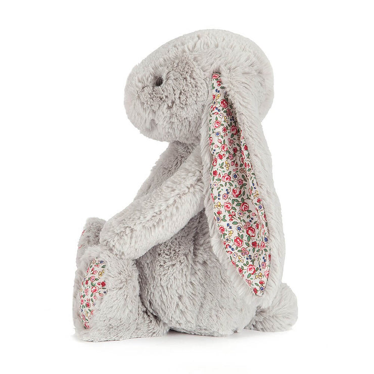 JELLYCAT - Doudou lapin liberty gris medium - Side