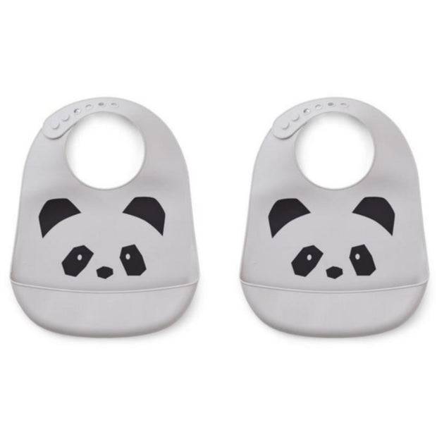 Bavoirs silicone panda - Liewood