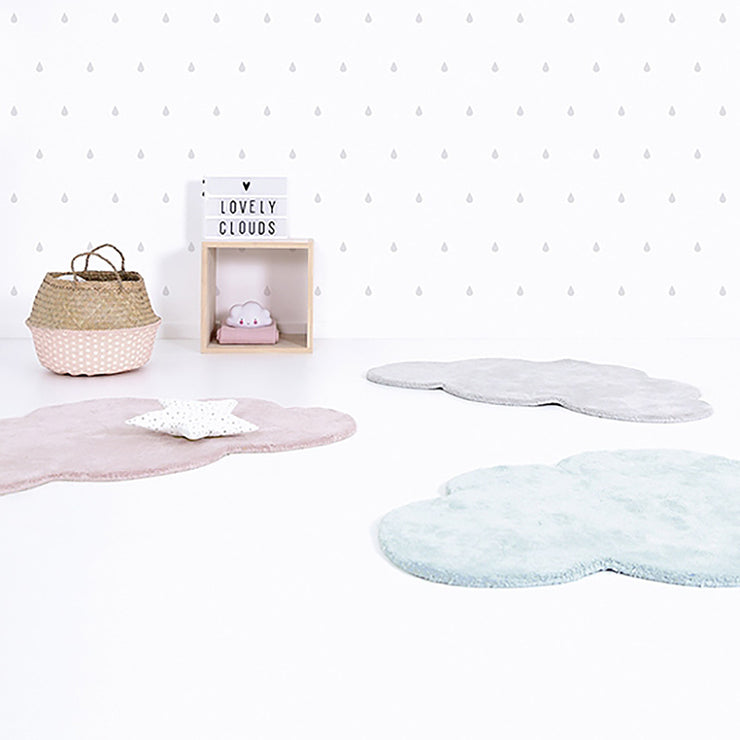tapis nuage rose layette lilipinso