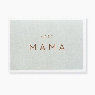 "Carte de voeux ""Best mama"" - Michoucas Design"