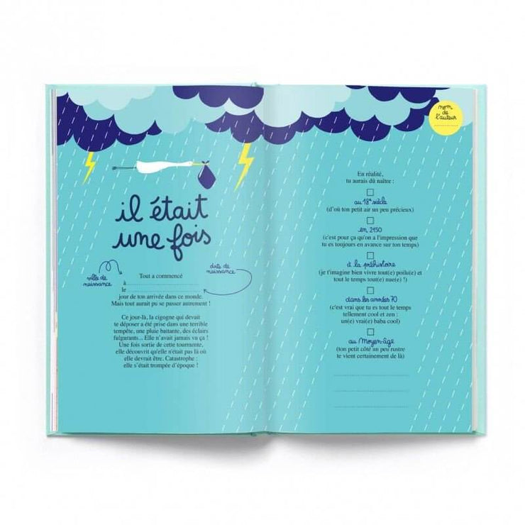 "Cahier d'anniversaire à remplir ""Happy Birthday to you"" Minus Editions"