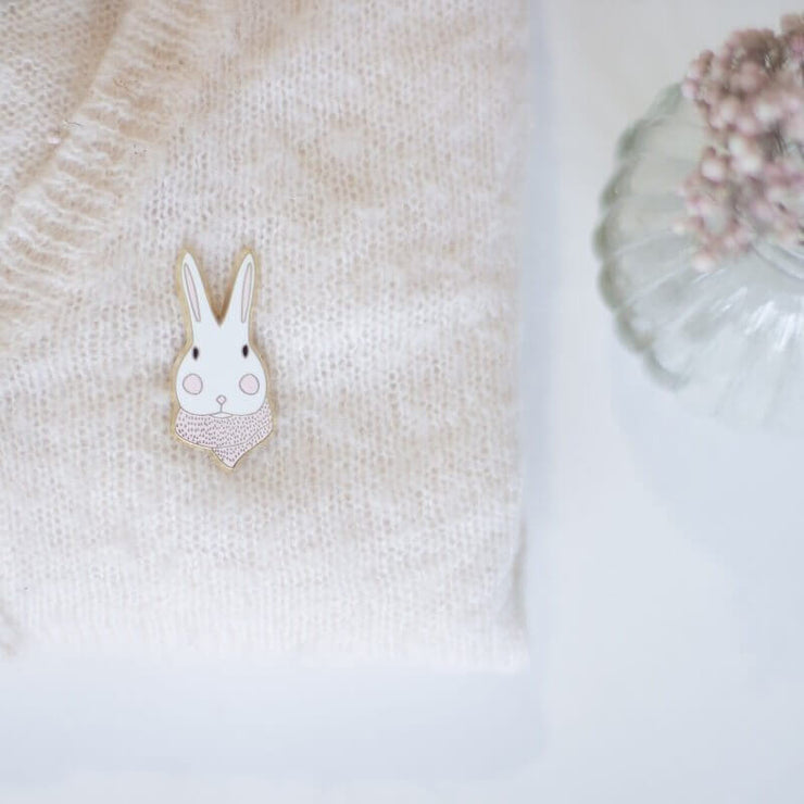 "Pin's lapin en métal ""Joséphine douceur"" - My Lovely Thing"
