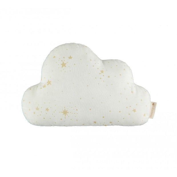 Coussin cloud coton bio gold - Stella White