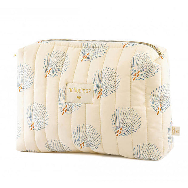 NOBODINOZ - Trousse de toilette Travel - Cream/Blue Gatsby