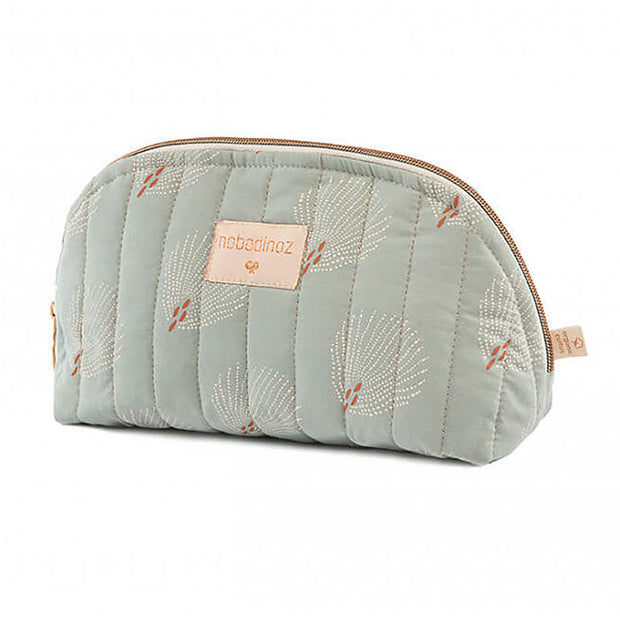 NOBODINOZ - Trousse de toilette Holiday - White Gatsby/Antique Green