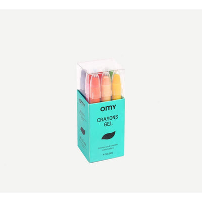 OMY DESIGN & PLAY - Crayons gel mini format