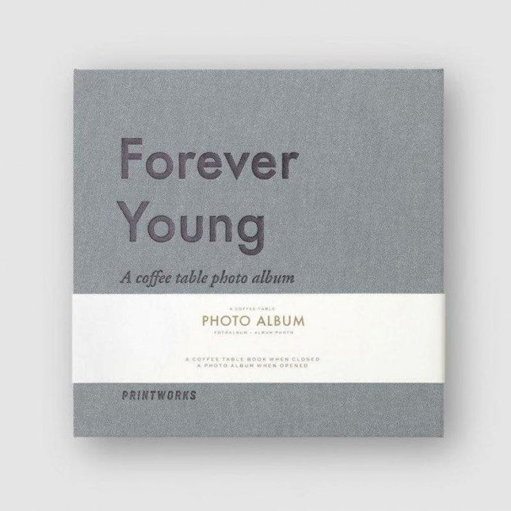 Album photo - Forever Young gris