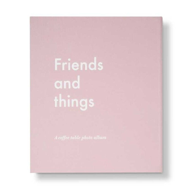 Album photo Friends And Things rose - Printworks
