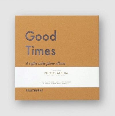 Album photo - Good Times moutarde