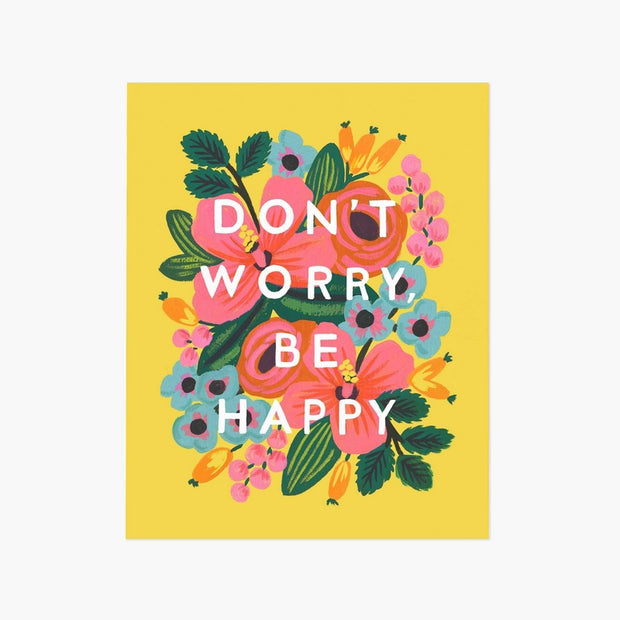 Affiche Don't Worry Be Happy