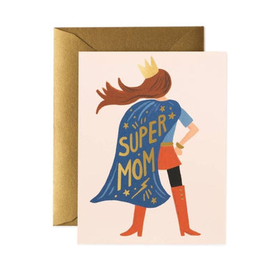 Carte de voeux - Super Mom