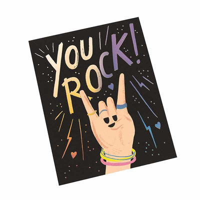 Carte de voeux You Rock - Rifle Paper Co
