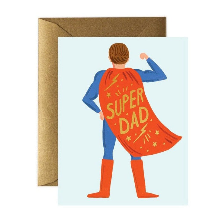 Carte de voeux - Super Dad
