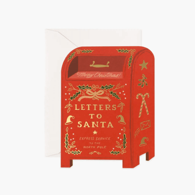 RIFLE PAPER CO - Carte de vœux Noël originale - Letters to Santa