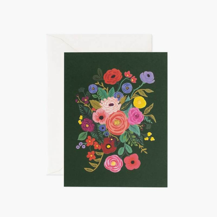 Carte de voeux - Garden Party Hunter Green