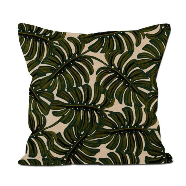 Coussin 60x60 - Monstera
