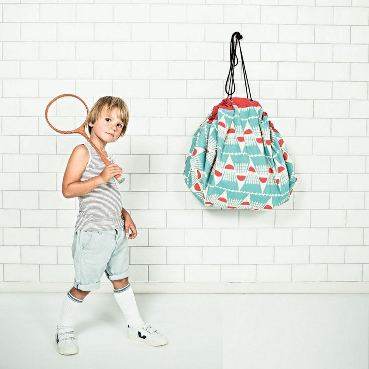 Sac à jouets Play&Go badminton - Bakker Made With Love